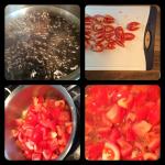 BBQ Sauce Quadtych